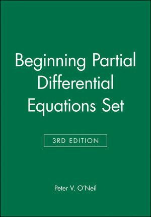 Partial differential equations homework solutions
